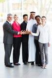 Business group thumbs up Stock Photos