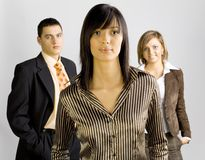 Business Group With Female Leader Royalty Free Stock Photo
