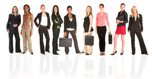 Business group of woman stock photography