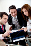 Business group working Stock Photography