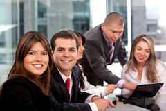 Business group working Stock Images