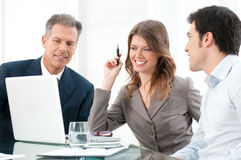 Business group working together Stock Image