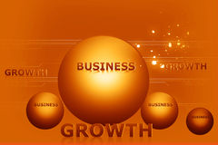 Business and growth Royalty Free Stock Photo