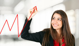 Business growth royalty free stock photo