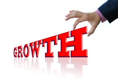 Business growth Stock Photography