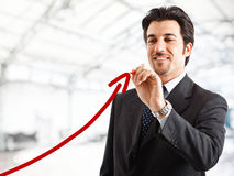 Business growth Royalty Free Stock Photography