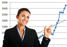 Business growth Stock Photos
