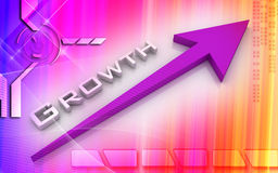 Business growth stock illustration