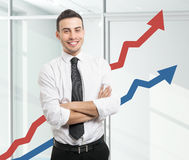 Business growth Royalty Free Stock Photos