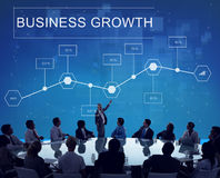 Business Growth Achievement Analytics Strategy Concept Royalty Free Stock Photo