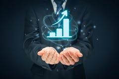 Business growth analysis Stock Photos
