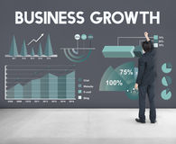 Business Growth Analytics Marketing Report Concept royalty free stock images