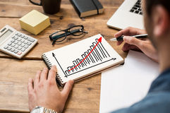 Business growth royalty free stock images