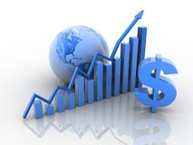 Business growth concept Stock Photography
