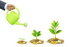 Business growth with csr practice Royalty Free Stock Photography