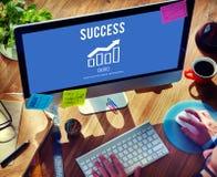 Business Growth Economics Graph Concept Stock Photos