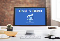 Business Growth Economics Graph Concept Royalty Free Stock Photo