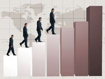 Business growth - graph 12mp Stock Photo