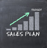 Business growth with graph arrows Stock Photos