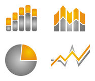 Business growth illustration Royalty Free Stock Photography