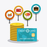 Business growth and money savings Royalty Free Stock Photo