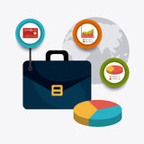 Business growth and money savings Royalty Free Stock Photography