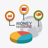 Business growth and money savings Stock Image