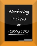 Business Growth Plan Concept Royalty Free Stock Image