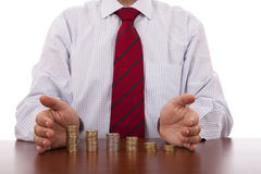 Business growth protection Stock Photo