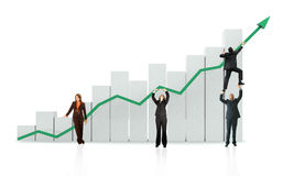 Business growth and success Royalty Free Stock Image