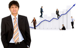 Business growth and success Royalty Free Stock Photography