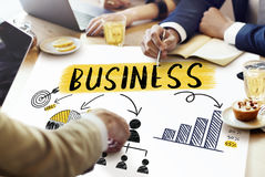 Business Growth Success Corporate Teamwork Concept Stock Photo