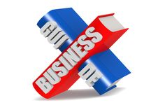 Business guide. Stock Photo