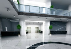 Business hall Royalty Free Stock Photos
