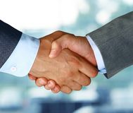 Business hand shake Stock Image