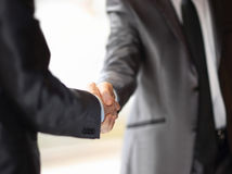 business hand shake Stock Photo