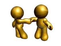 Business hand shake icon Royalty Free Stock Photo
