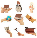 Business hands Royalty Free Stock Image