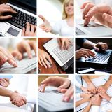 Business hands Stock Image