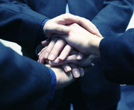 Business hands Royalty Free Stock Photo