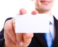 Business hands, man in suit Stock Photos