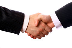 Business handshake. Royalty Free Stock Images