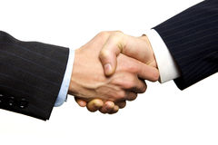 A Business Handshake Royalty Free Stock Image
