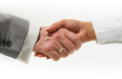 Business handshake Stock Photography