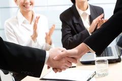 Business handshake Royalty Free Stock Photography