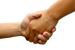 Business handshake. Handshake Royalty Free Stock Photo