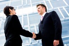 business handshake Στοκ Εικόνες
