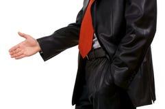 Business handshake. Stock Image