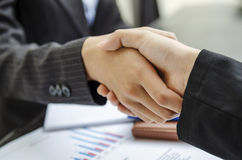 Business handshake agreement Royalty Free Stock Photo