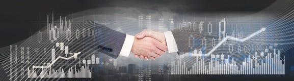 Free Business Handshake Background Royalty Free Stock Photography - 101951207